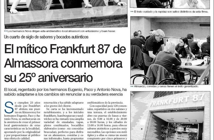25 Años Frankfurt 87